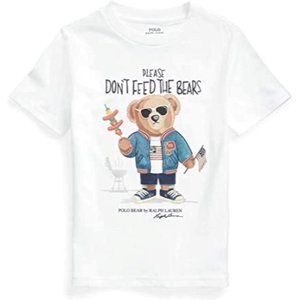 NWT Polo Ralph Lauren Don't Feed the Bears Graphic Tee M